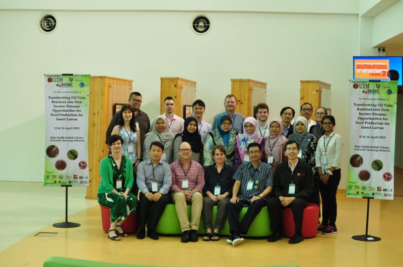 International Workshop on Transforming Oil Palm Residues——Biosciences Department, Faculty of Science in collaboration with University of York, UK
