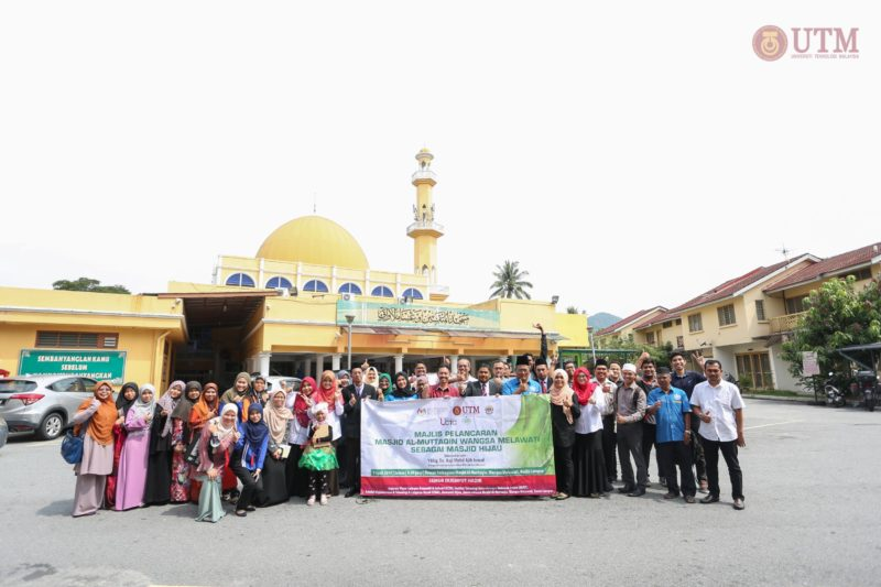 UTM and Masjid Al-Muttaqin launched Green Mosque Project