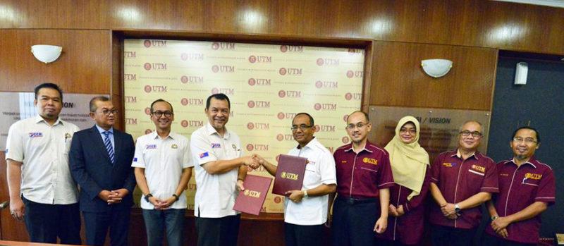 UTM-JCCD jalin kerjasama strategik tingkat pembangunan negeri Johor