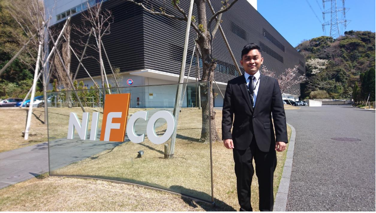 Sakura Welcomes Mr.Fareed to NIFCO