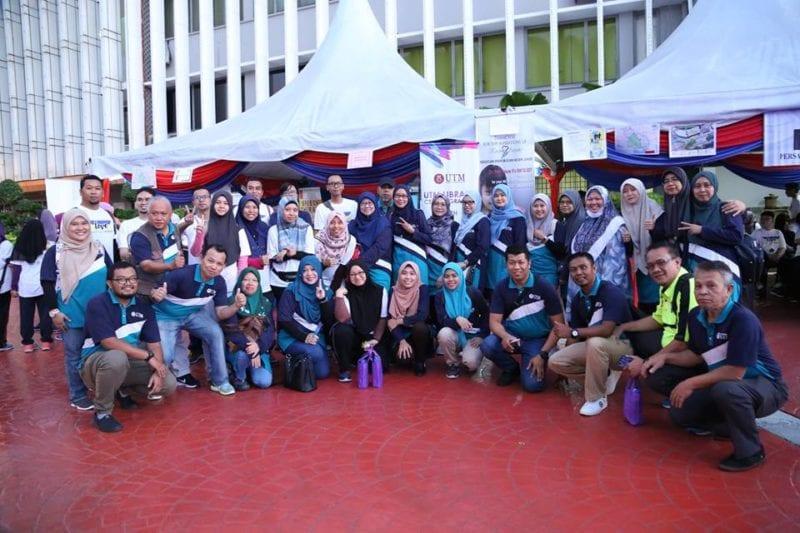 UTM Library CSR Programme with PSDNJ at Majlis Bandaraya Johor Bahru (MBJB)