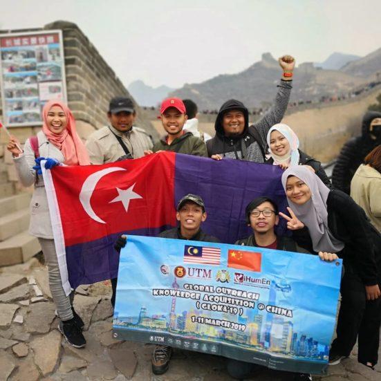 Delegasi GLOKA 19′ bawa nama UTM ke China