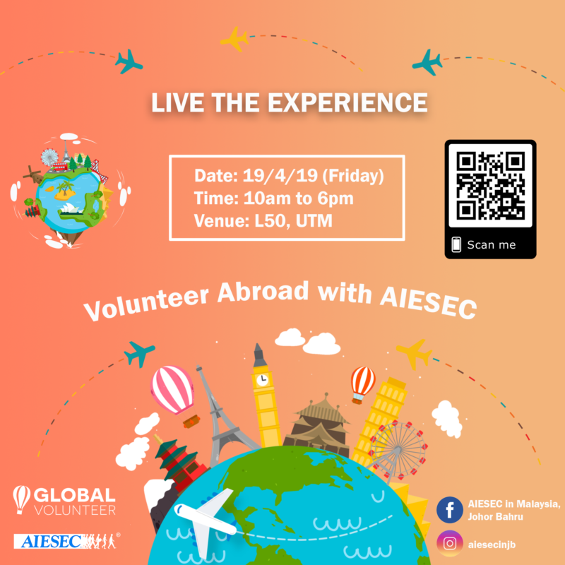 Live The Experience with AIESEC