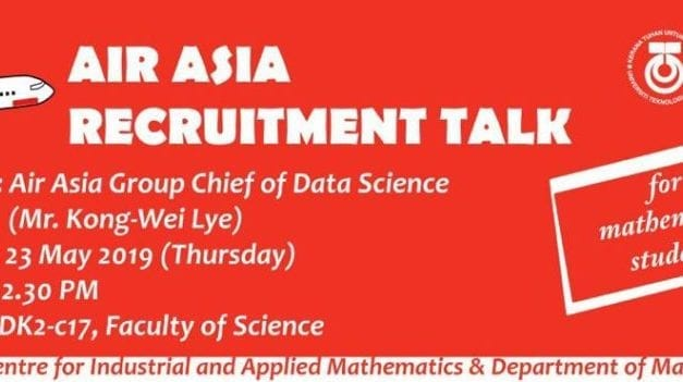MATHEMATICS GRADUATES WANTED AT AIRASIA