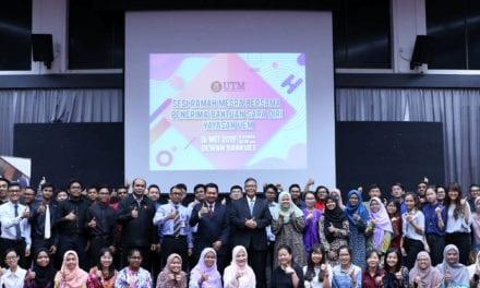 47 Pelajar B40 UTM Terima Bantuan Zakat Daripada Yayasan UEM