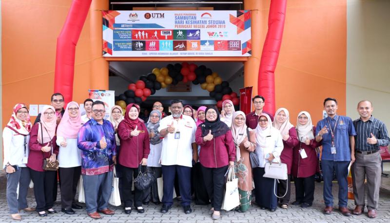 700 sertai program Sambutan Hari Kesihatan Sedunia Peringkat Negeri Johor 2019