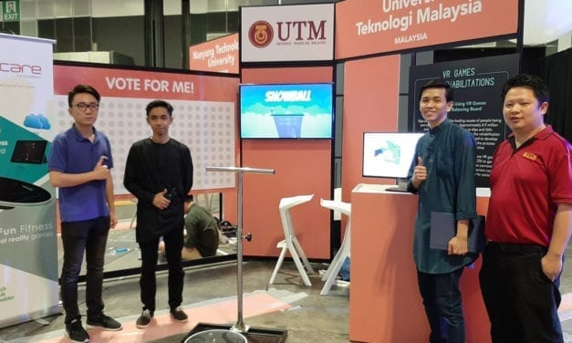 UTM students represented Malaysia in Singapore Youth Innovation 2019