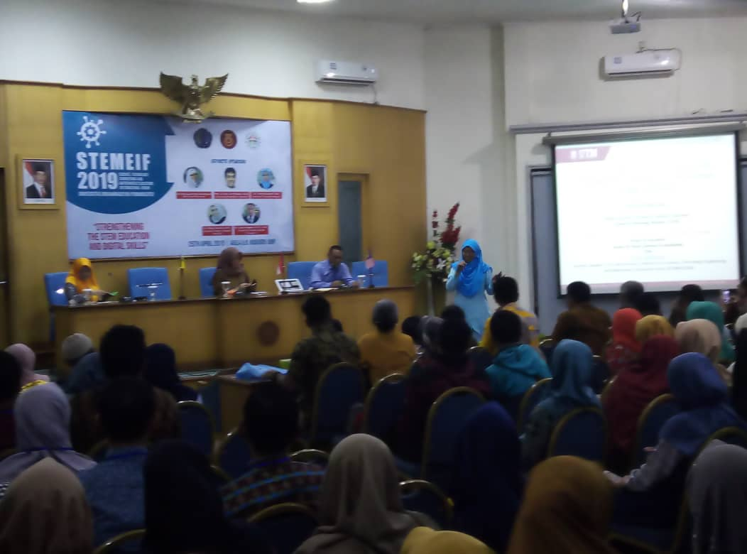 FSSH STEM expert invited as keynote speaker at STEMEIF 2019, Central Java, Indonesia