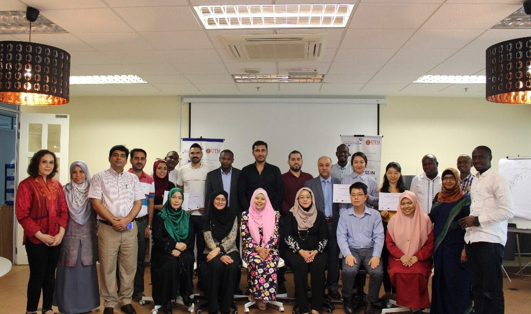 International sponsors by Erasmus REPESEA CBHE+ Research Group to improve research capacity of UTM postgraduate students