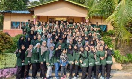 Survival Camp Bentuk Jati Diri Pelajar Tahun 1 dari Fakulti Sains
