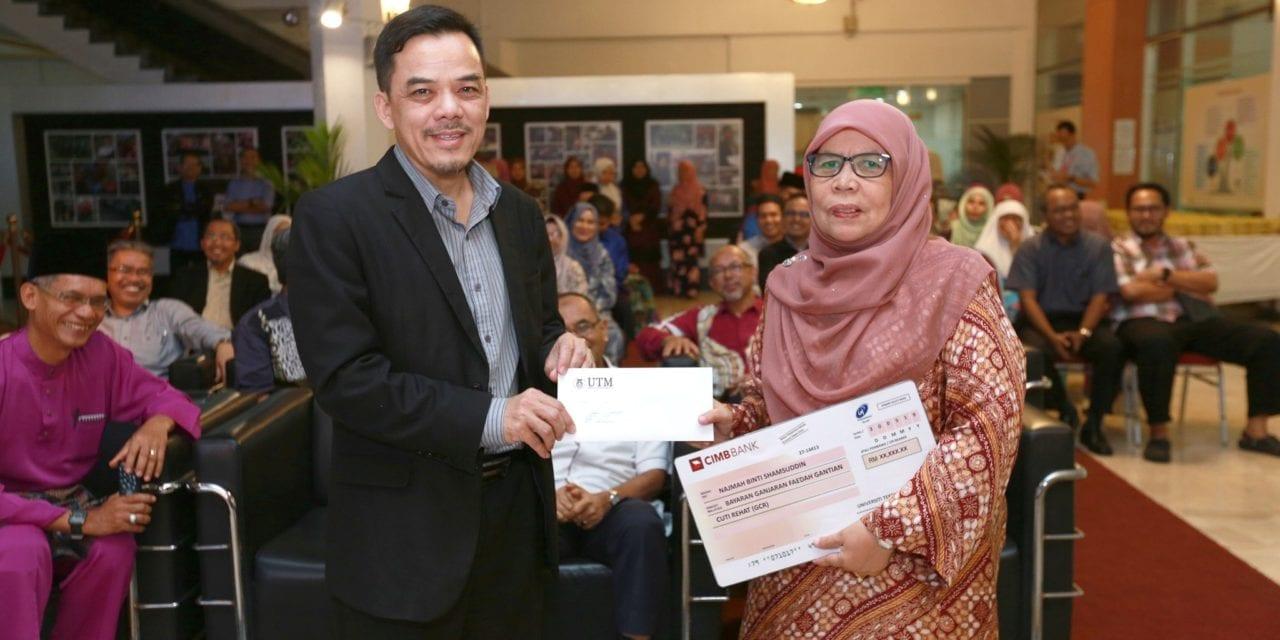 'Pakar Rujuk' Pengurusan Akademik UTM, Hajjah Najmah Bersara