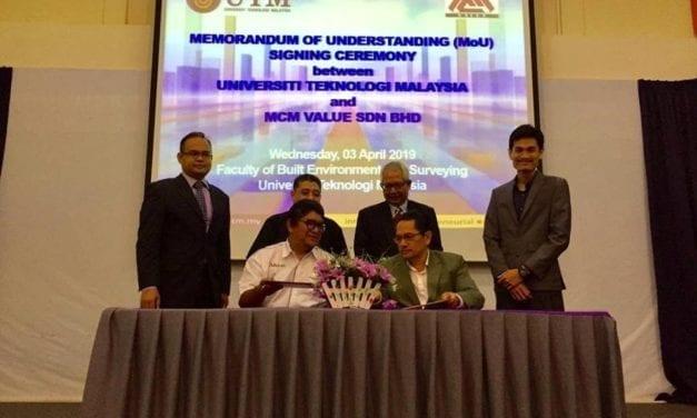 FABU-MCM Value Sdn Bhd Jalin Kerjasama Dalam Pengurusan Aset Strategik