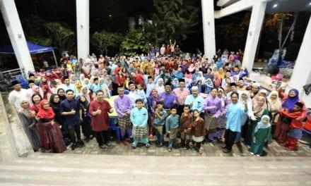 Kemeriahan Majlis Sambutan Hari Raya Aidilfitri FABU Kali Pertama Selepas Sinergi