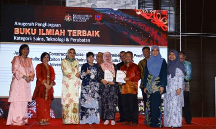 Penerbit UTM Rangkul Tiga Anugerah MAPIM-KPM 2018