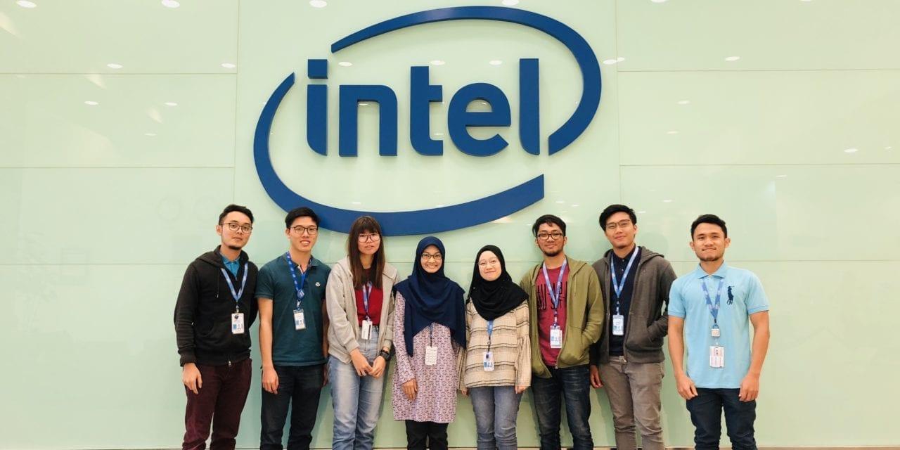 Pelajar Fakulti Kejuruteraan UTM Terpilih Dalam Program MOE-Intel Elite Internship