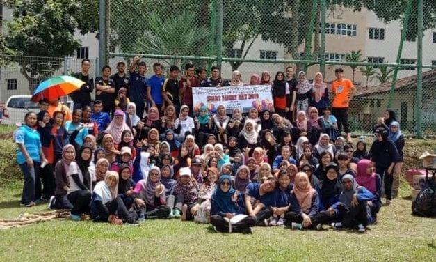 Hari Keluarga Eratkan Ukhuwah Pelajar & Pensyarah SHARPS UTM