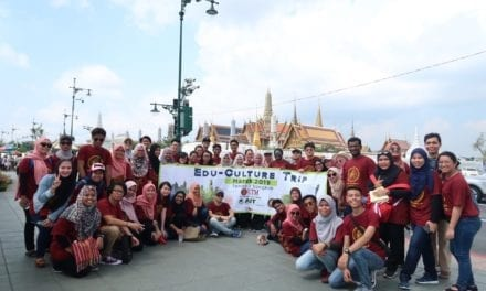 Edu-Culture Trip 2019 to Bangkok for Final Year Students from Urban and Regional Planning FABU