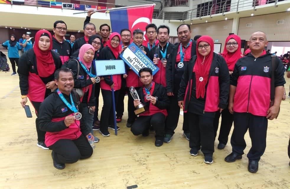 Pensyarah UTM bantu Johor rangkul kejuaraan MAKSAK 2019