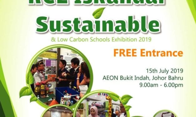 Pameran RCE Iskandar Sustainable & Low Carbon Schools Exhibition 2019 Cermin Usaha UTM Ke Arah SDG