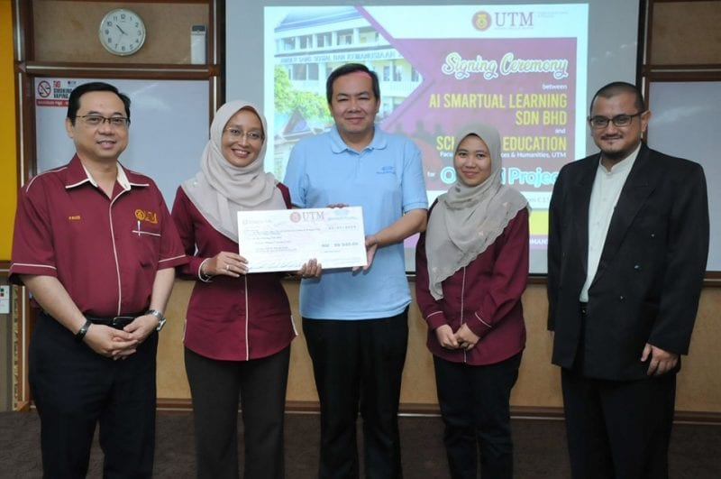 School Of Education secured an industry grant amounting RM 86,940 for Online Content Development For K12 Education (OCEAN) Project