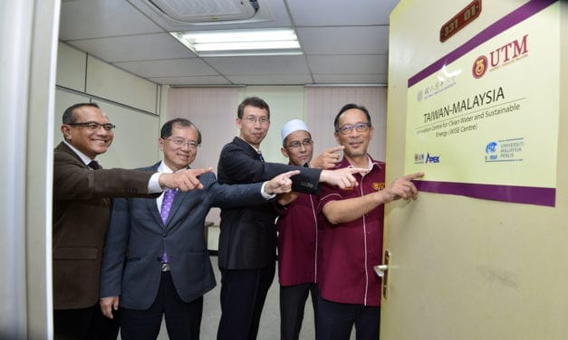 Launching of the Taiwan-Malaysia Innovation Centre for Clean Water and Sustainable Energy (WISE Centre) at UTM