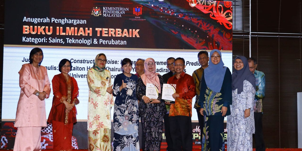 UTM Press Receives Three Awards in Anugerah MAPIM-KPM 2018