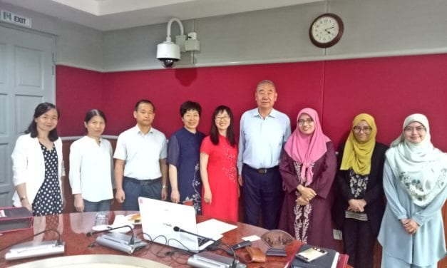 Ningxia Finance & Economics Vocational College, China  Visits UTM Kuala Lumpur