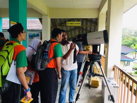 FABU Pupuk Kesedaran Ilmu Tentang Perubahan Iklim di SMPKV Indahpura