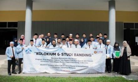 Kolokium FSSK UTM – UIN Raden Fatah Bincang Isu-isu dalam Bidang Syariah