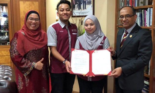 UTM Perkasa Mahasiswa Dalam Pengurusan Universiti Dengan Penyertaan dalam Mesyuarat Senat