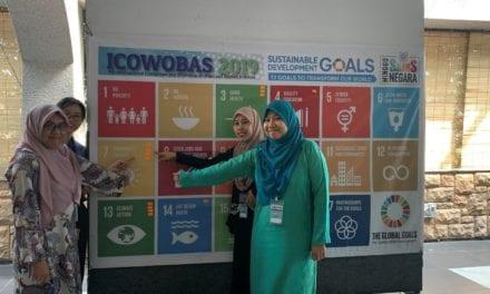 Delegasi ICOWOBAS Menyokong Matlamat Pembangunan Lestari (SDG)