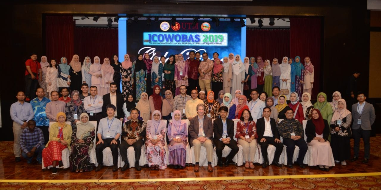 Faculty of Science UTM Hosted the 7th International Conference And Workshop On Basic And Applied Sciences 2019 (ICOWOBAS 2019)