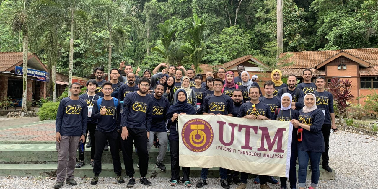 International Students of UTM Conquered the Cave of Wonders and Adventures Gua Tempurung!