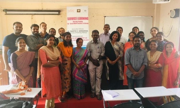 Service Learning and Field Work Workshop for Social Work Lecturers of Sree Sankaracharya University of Sanskrit (SSUS), in Kalady, Kerala, India