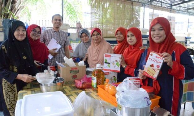 20 pelatih Baitus Solehah sertai program CSR Pusat Islam UTM