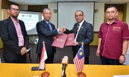 UTM-UIR perkemas kolaborasi dalam bidang Minyak dan Gas serta Komunikasi Tanpa Wayar