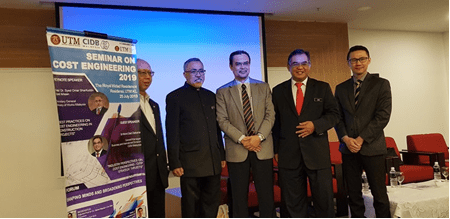 200 Architectural, Engineering and Construction (AEC) Professionals Gathered in Seminar on Cost Engineering (SCE 2019)