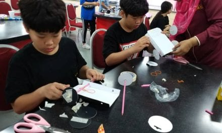 The Educational Chemistry Laboratory Hosts STEAM Learning for Korean Students