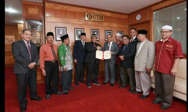 Majlis Menandatangani Surat Cara (LoC) antara UNIRA dan UTM