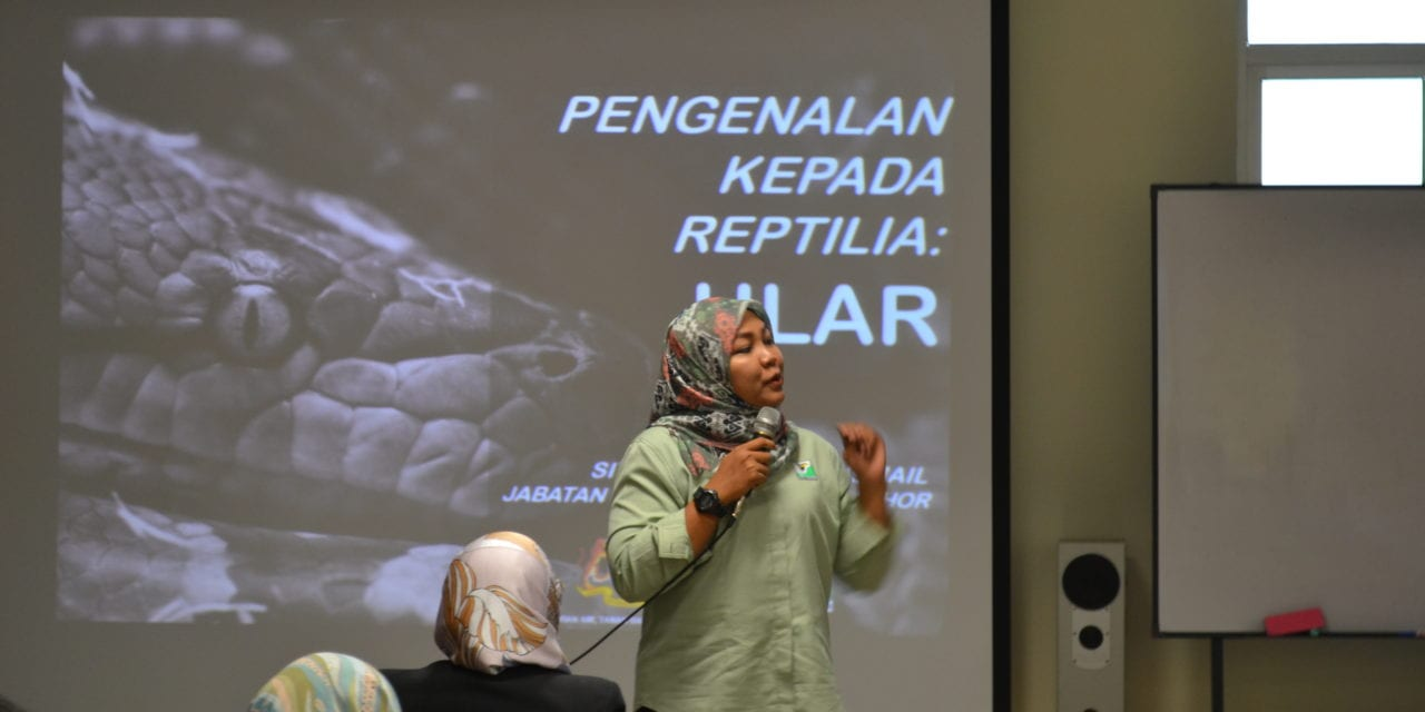 Snake Safety Talk at UTM Pagoh
