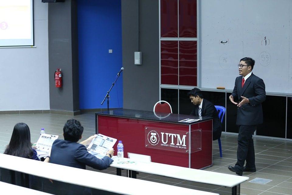 UTM Top Bidder Medan Pelajar UTM Asah Bakat Bidaan