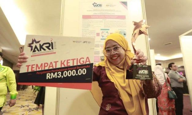 Dr. Norliza Mohd Isa FABU UTM Raih Tempat Ke-3 AKRI 2019