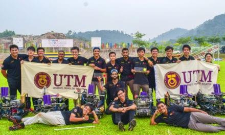 Pasukan ROBOCON UTM capai kemenangan besar di URock 2019