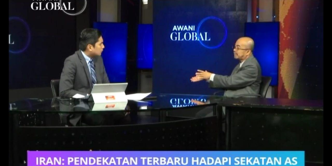 Kupasan Pakar, Prof. Dr. Kamaruzaman Yusoff dari ATI, UTM di Astro Awani Tentang Isu Semasa di Asia Barat