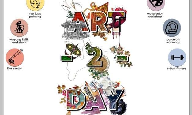 Pelajar Senibina Ungguli Pertandingan Lukisan Seni Visual Art-2-Day Anjuran Firma RDC Architect