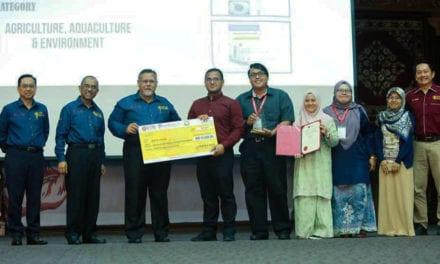 Dr. Hafiz Dzarfan Dinobat 'Best of the Best' Innovate Johor 2019