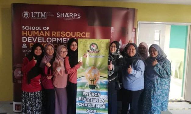 "SHARPS, FSSH Sokong Usaha SMK MEDINI dalam Cabaran ""ENERGY EFFICIENT CHALLENGE"""