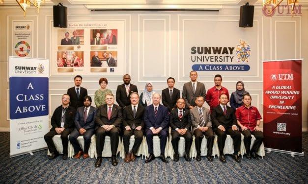 UTM, Sunway University ink MoU in Academic Programme Development