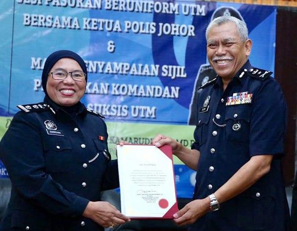 TNCHEP jadi Wanita Pertama dilantik Komandan Kor SUKSIS UTM
