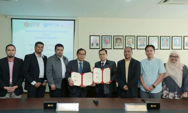 UTM-Geosolutions tandatangani MoU kerjasama bidang Integrasi Pemodelan Maklumat Bangunan (BIM)